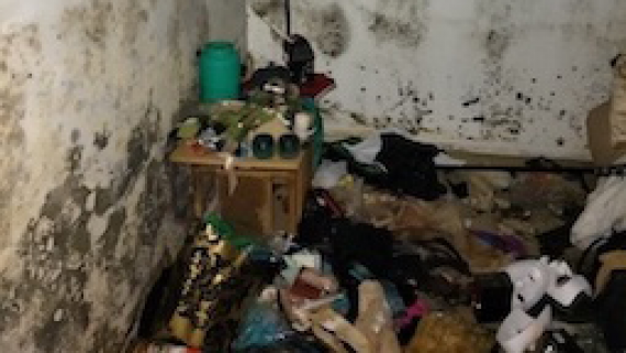 Room Affected by Mould